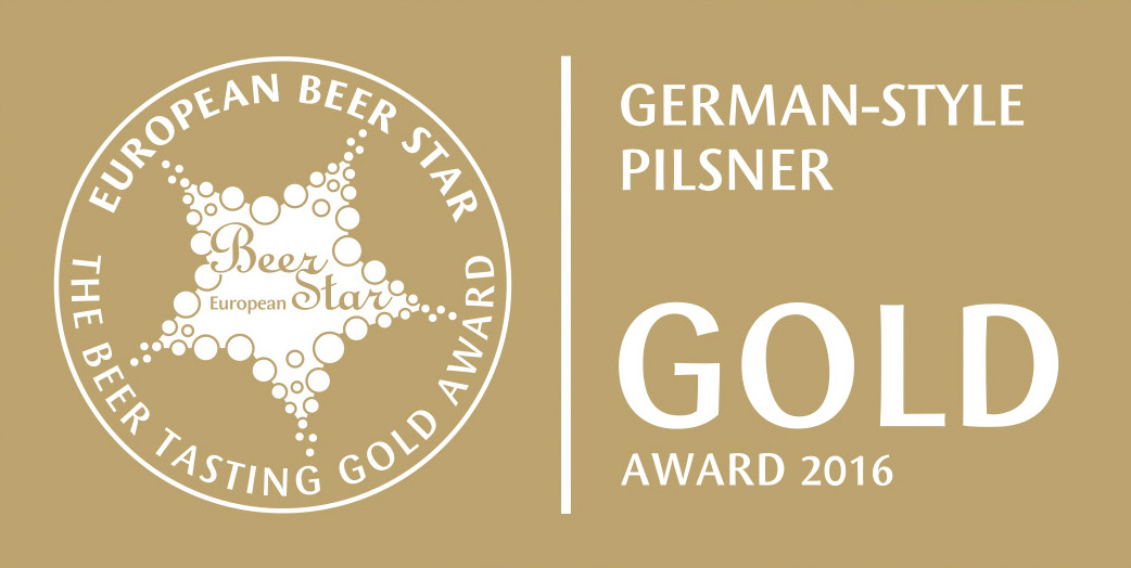 Eurpoean Beer Star 2016 Gold